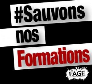 #SauvonsNosFormations : Mobilisons-nous ce vendredi 16 octobre !