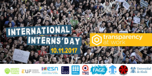Transparency at Work – Vendredi 10 Novembre